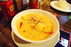 cocunut soup! DELICIOUS!