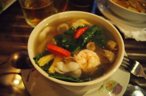 soup with sea food