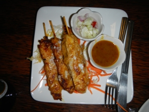 more chicken skewers