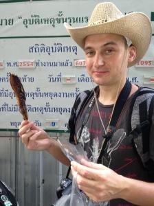 mmmm fish on a stick