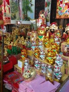 Just some of the things to buy in China town Bangkok