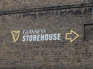 On my way to visitn Guinness so exciting!