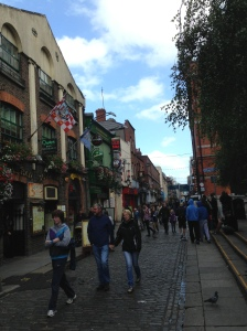 Grafton Street - the most expensive street in Dublin