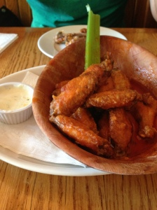 the best chicken wings I ever ate!